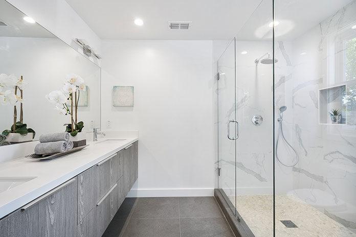 Najlepszy wybór lustra łazienkowego