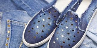 Wygodne buty slip on
